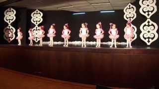 Apresentação de Balé do Maternal 2...as fofinhas q eu amo!!!!
