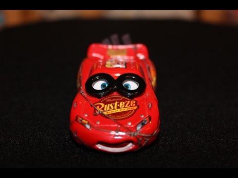 Disney Pixar Cars SPINOUT LIGHTNING McQUEEN #36 Race O Rama A