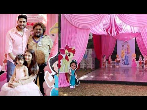 Video Aishwarya and Abhishek's Daughter Aaradhya Bachchan's Birthday Bash download in MP3, 3GP, MP4, WEBM, AVI, FLV January 2017
