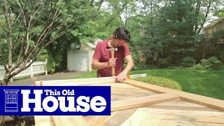 Video How to Build a Sliding Barn Door - This Old House MP3, 3GP, MP4, WEBM, AVI, FLV Juli 2018