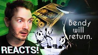 Bendy creators announce 2 NEW Games! (BENDY 2 Announcement Reaction)