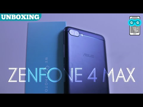 ASUS Zenfone 4 Max Pro (ZC554KL) - Unboxing, Fingerprint & Camera Test (Indonesia)