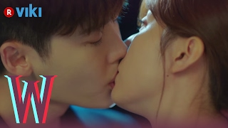 Video W - EP 5 | Lee Jong Suk & Han Hyo Joo's Rooftop Kiss MP3, 3GP, MP4, WEBM, AVI, FLV April 2018