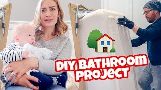 NEW HOUSE DIY BATHROOM PROJECT! Home Renovation