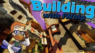 Building with fWhip :: Castle Watch Tower and Gate :: #60 Minecraft 1.12 Single Player  Survival