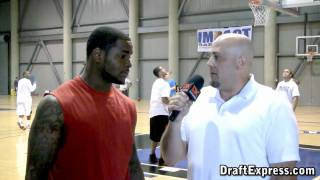 DraftExpress Exclusive: Sherron Collins Pre-Draft Interview & Workout Footage