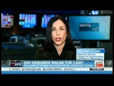 Melanie Discusses Day 2 of the John Edwards Trial on CNN