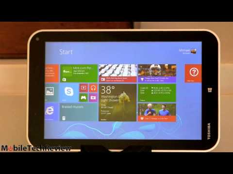 Toshiba - Lisa Gade reviews the Toshiba Encore, a 8