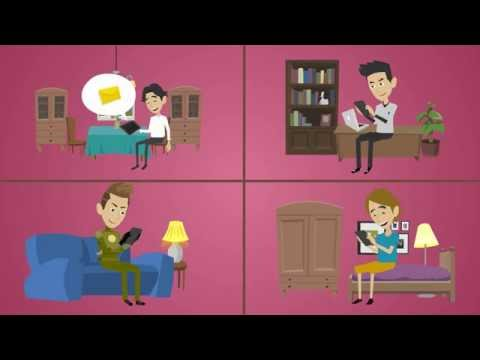 Animated Explainer Video for the BlaBla Connect Messenger