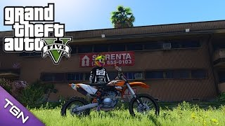 5. GTA V - 2010 KTM 450 SX-F with Liveries [Add-On] (Download)