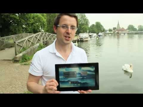 Xperia Tablet Z – Water Test in the River Thames