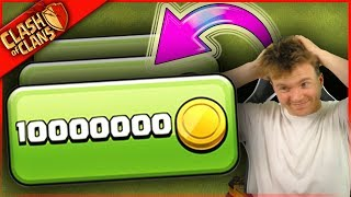 Video 10,000,000 GOLD!? + Clash of Clans = HOW IS THIS SO EXPENSIVE?! MP3, 3GP, MP4, WEBM, AVI, FLV Agustus 2017
