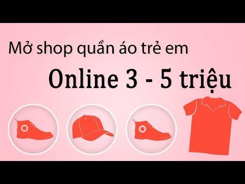 """""""Bí mật"""" kinh doanh shop quần áo trẻ em online vốn từ 3 đến 5 triệu - quần áo xuất khẩu."""