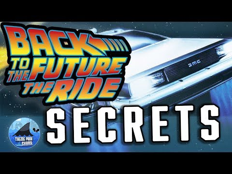 Top 5 Back to the Future The Ride SECRETS