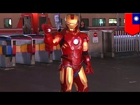 Trop cool! Un Taïwanais fabrique sa propre réplique du costume d'Iron Man