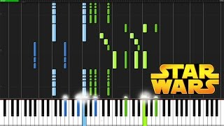Star Wars Main Theme - Star Wars [Piano Tutorial] Ноты и М�Д� (MIDI) можем выслать Вам (Sheet music