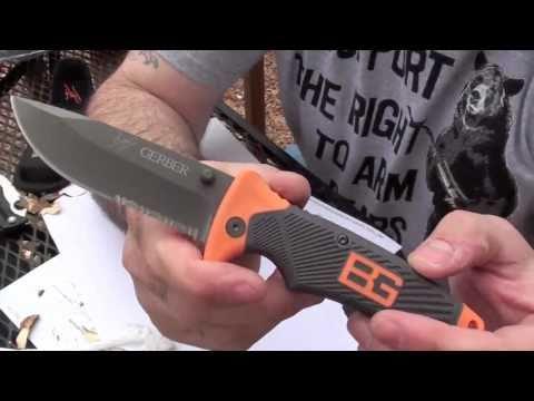 Відеоогляд ножа Gerber Bear Grylls Folding Sheat Knife