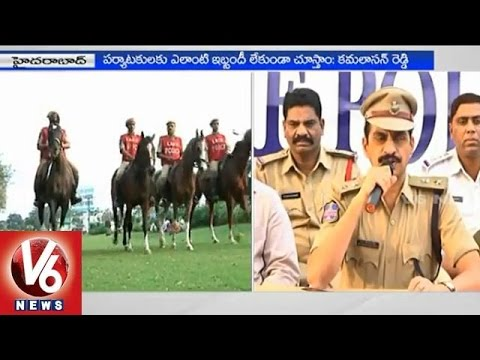 Special teams to provide security near tourist spots in Hyderabad  DCP Kamalasan Reddy