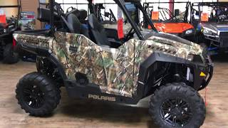 4. 2017 POLARIS GENERAL 1000 EPS HUNTER EDITION P000501