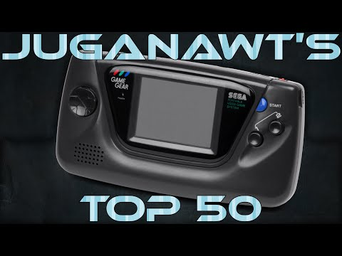 Top 50 Sega Game Gear Games of All Time!