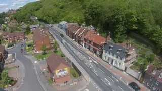Lewes United Kingdom  city pictures gallery : DJI Phantom 2 Vision+ - Flyover of Lewes, UK