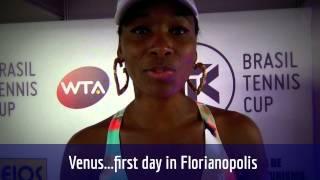 Venus conta sobre seu primeiro dia no Brasil