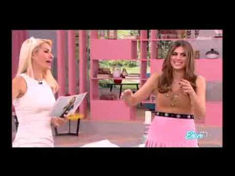 Η Σταματίνα Τσιμτσιλή χορεύει με τον Γιώργο Λιανό στην εκπομπή «Ελένη»
