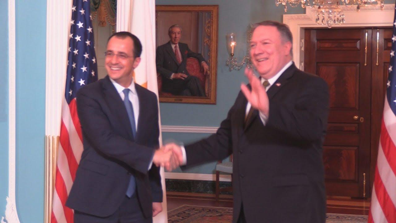 Συνεργασία Κύπρου – ΗΠΑ στον τομέα της ασφάλειας, στην Ουάσιγκτον