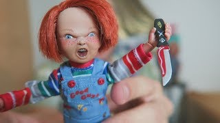 Video UNBOXING | Chucky 8 Inch Scale Clothed Figure by NECA MP3, 3GP, MP4, WEBM, AVI, FLV Juli 2018