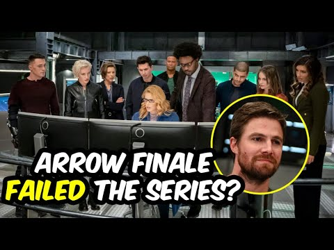 """The Arrow Finale Failed The Series? """"Fadeout"""" 8 x10 Rant & Review!"""