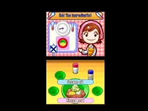 Cooking Mama (DS) Trailer