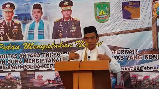 Video Ustadz Abdul Somad Lc MA Sesi Tanya Jawab di Mapolda Kepri, Batam, 09 Februari 2018 MP3, 3GP, MP4, WEBM, AVI, FLV Februari 2018