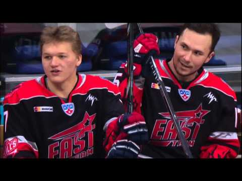 KHL All Star Game 2016: 3-on-0 rush challenge (видео)