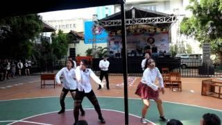 Download Lagu Video Lomba Dance Sekolah Dhammasavana di SMAN2 Jakarta Acara Genewa Mp3
