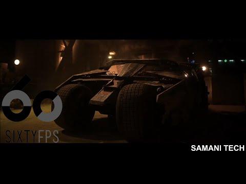 [60FPS] The Dark Knight Batmobile Scene 60FPS HFR HD