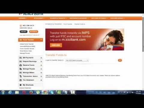 internet banking ke through paise kaise transfer kare