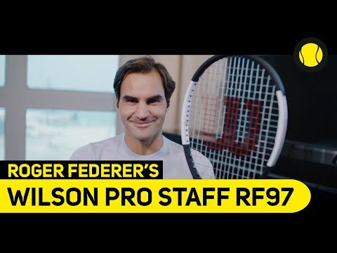 Roger Federer's new Pro Staff | Racket | Tennis-Point