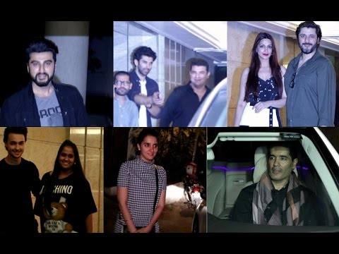 Arjun kapoor |  Aditya Roy kapur & Many Other At Priynka Chopra Grand Party After Return From USA