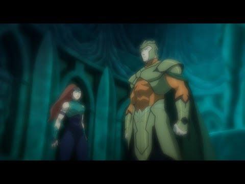 Aquaman Knows His Origins - Justice League : Throne Of Atlantis