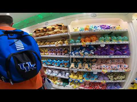 2018 Japan Trip - Pokémon Center Walkthrough in Yokohama