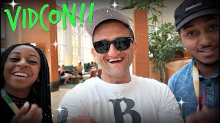 Video VIDCON 2017 VLOG!!! YOU WILL NEVER GUESS WHO WE MET!!!! MP3, 3GP, MP4, WEBM, AVI, FLV Agustus 2018