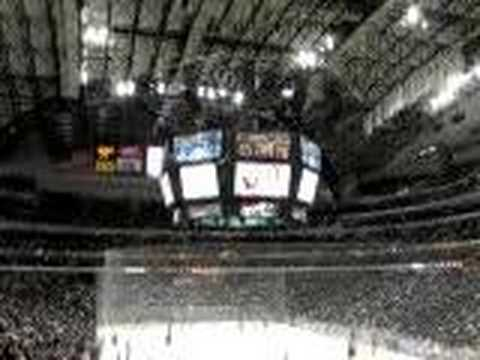 spectrebilly - Lucky row giveaway at Dallas Stars game - Nov 16, 2007.