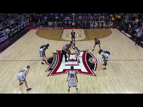NCAAB 03 14 2019 Big 12 Tournament West Virginia vs Texas Tech ESPN Above The Rim Feed 720p60
