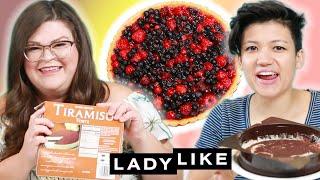 Video Kristin and Jen Try Every Trader Joe's Frozen Dessert • Ladylike MP3, 3GP, MP4, WEBM, AVI, FLV Januari 2019