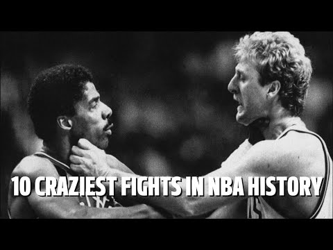 10 CRAZIEST FIGHTS in NBA History