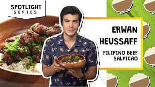 Filipino Beef Salpicao   Erwan Heussaff by Tastemade