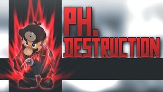 Ph.Destruction  15 (0%-to-Death Combo on Wario)