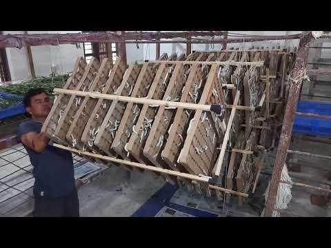 Hanging Rotary mountage Part-2( Sericulture Tripura) (видео)