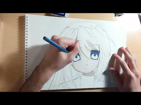 Speed Drawing Tomoyo Sakagami - Clannad