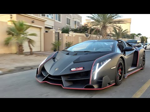 The Unicorn of Hypercars - Lamborghini Veneno!